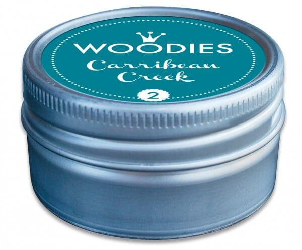Woodies tampon encreur Carribean Creek