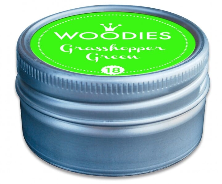 Woodies tampon encreur Grasshopper Green