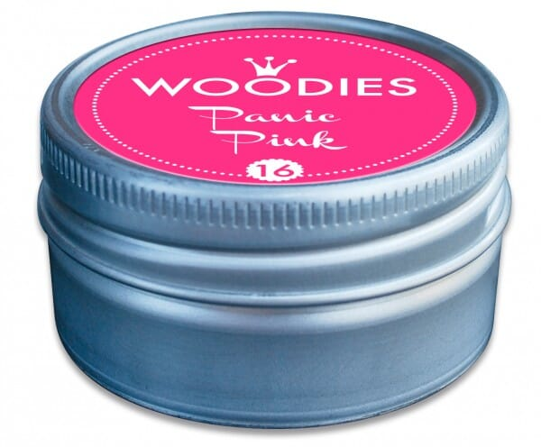 Woodies tampon encreur Panic Pink