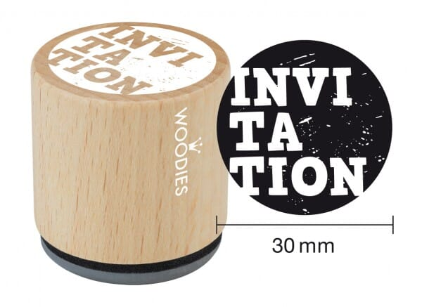 Woodies tampon INVITATION