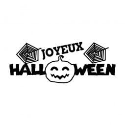 Trodat Printy 4911 Tampon formule - Joyeux Halloween- Citroville