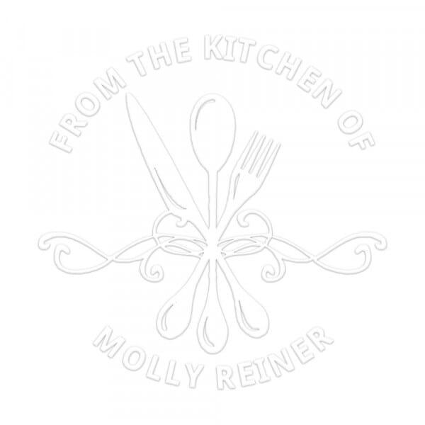 Pince à gaufrer monogramme ronde - Fait par (cuisiné par)