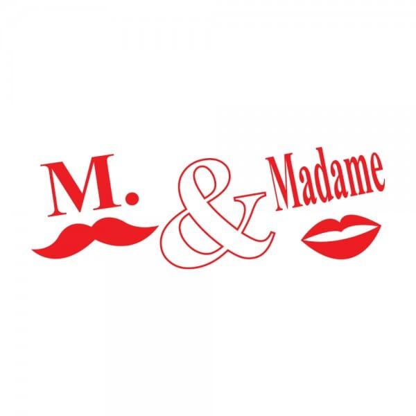 Trodat Printy 4911 Tampon formule - M. et Madame