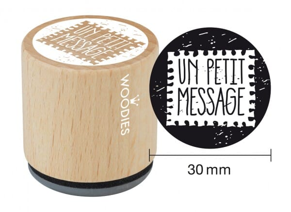 Woodies tampon Un petit message