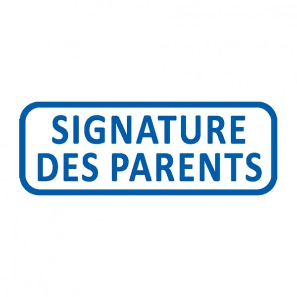 Trodat X-Print SIGNATURE DES PARENTS