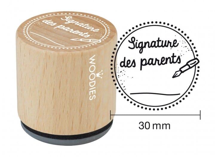 Woodies tampon Signature des parents
