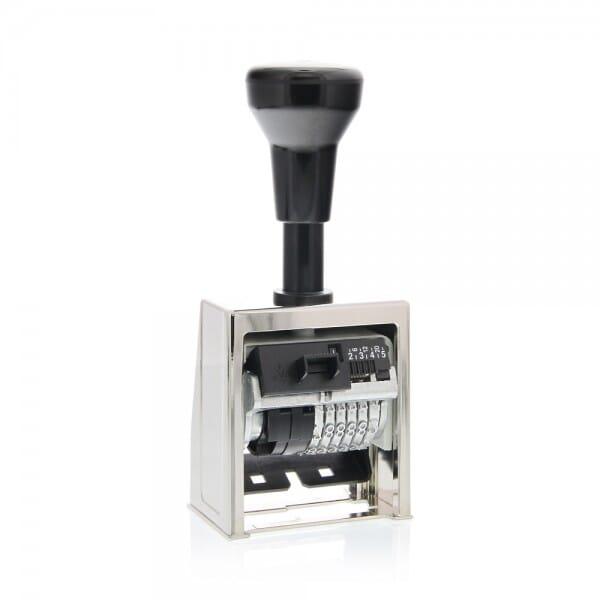 Folioteur Reiner cage métallique - 6 chiffres, 4,5mm- B6-1