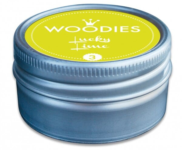 Woodies tampon encreur Lucky Lime