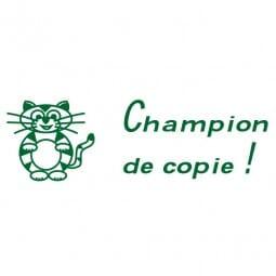 Tampon scolaire Trodat Printy 4910 - Champion de copie !