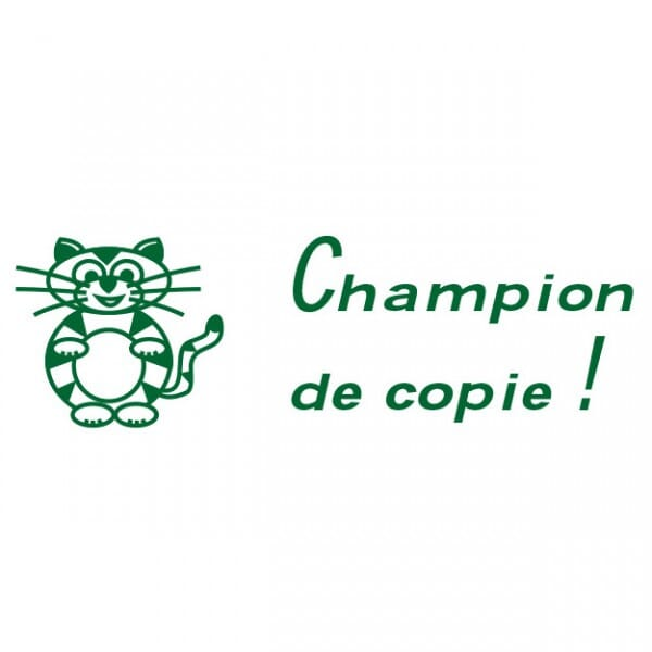 Tampon scolaire Trodat Printy 4910 - Champion de copie