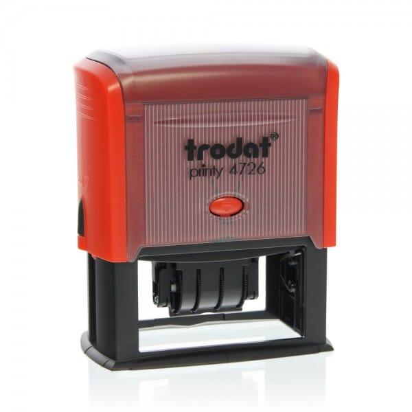 Trodat Printy dateur 4726 75x38 mm / 3 + 3 lignes