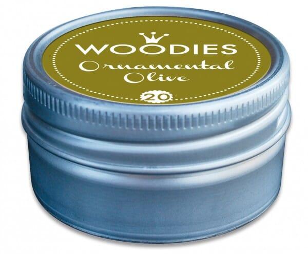 Woodies tampon encreur Ornamental Olive