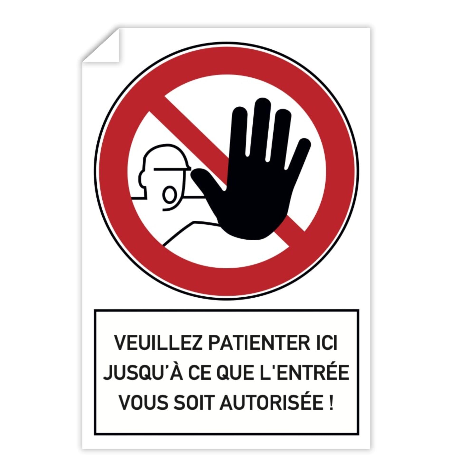 6 x veuillez Laver Votre Mains Autocollant Signe-Choix de 4 tailles-Auto Adhésif Arrière