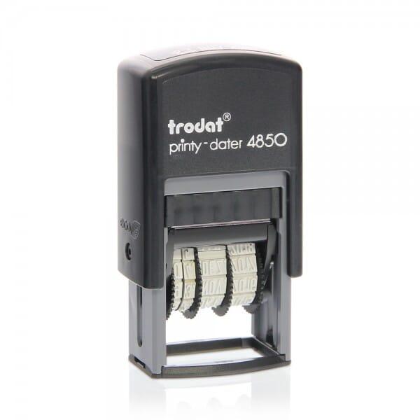 Trodat Printy dateur 4850/2 bicolore 25x5 mm / 1 ligne + date
