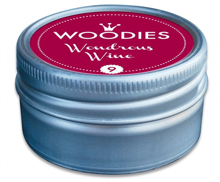 Woodies tampon encreur Wondrous Wine