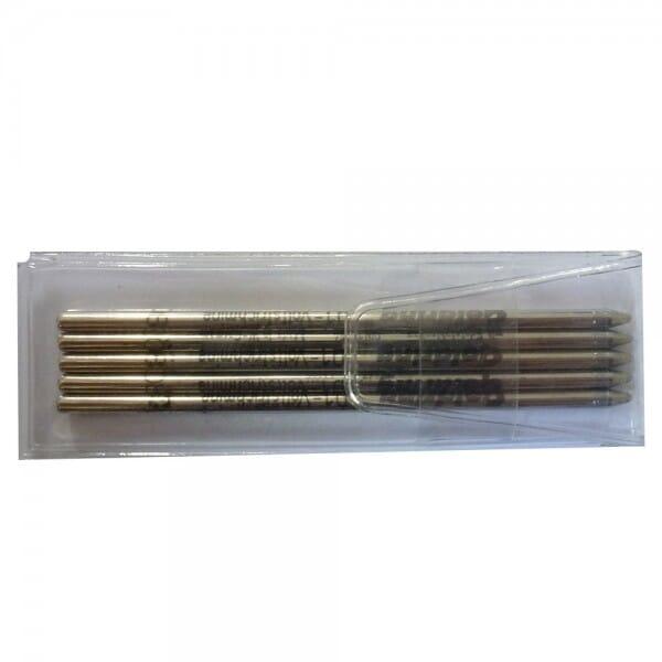 Recharges mines pour stylos tampons - Lot de 5