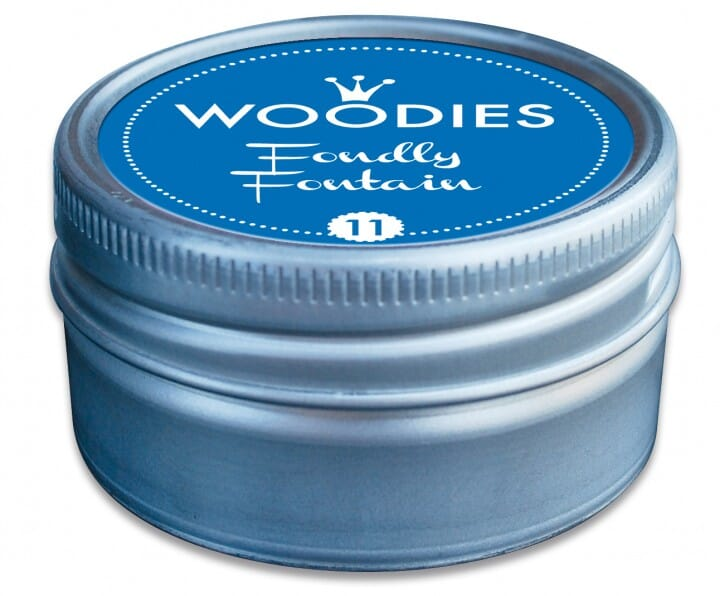 Woodies tampon encreur Foundly Fontain