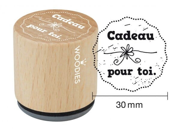 Woodies tampon Cadeau pour toi