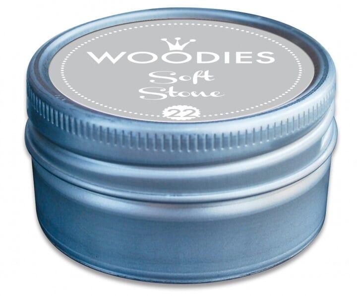 Woodies tampon encreur Soft Stone