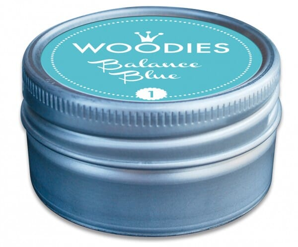 Woodies tampon encreur Balance blue