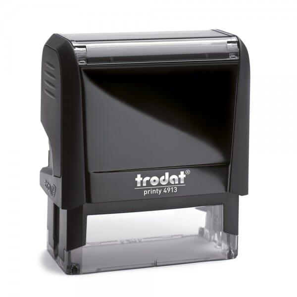 Tampon avec une signature - Trodat Printy 4913 - 58 x 22 mm