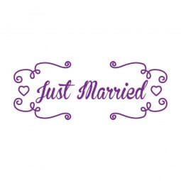 Trodat Printy 4911 Tampon formule Just Married