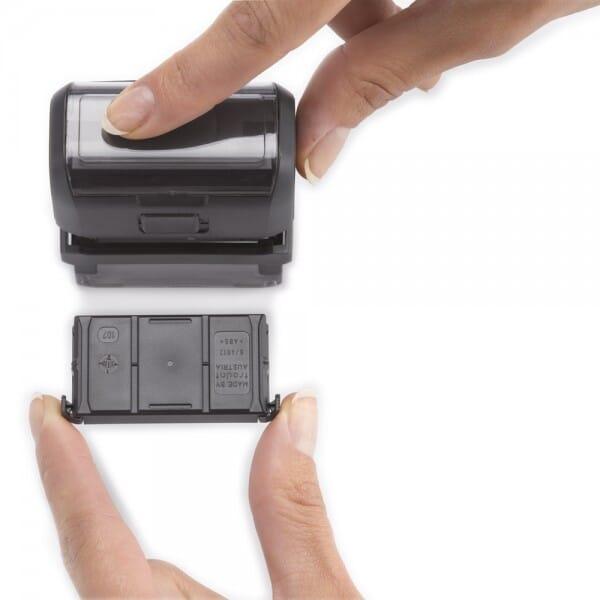 Tampon pour une pharmacie - Trodat Printy 4913 - 58 x 22 mm