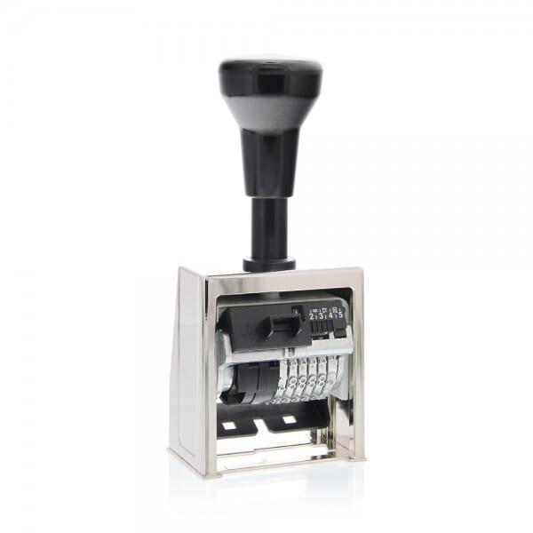 Folioteur Reiner cage métallique - 6 chiffres - 4,5mm-B6-2