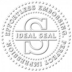 Trodat Ideal Pince à Gaufrer - diam. 51mm - chrome