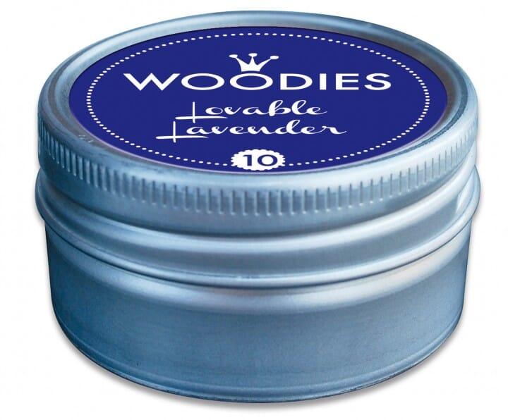 Woodies tampon encreur Lovable Lavender