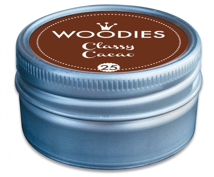 Woodies tampon encreur Classy Cacao