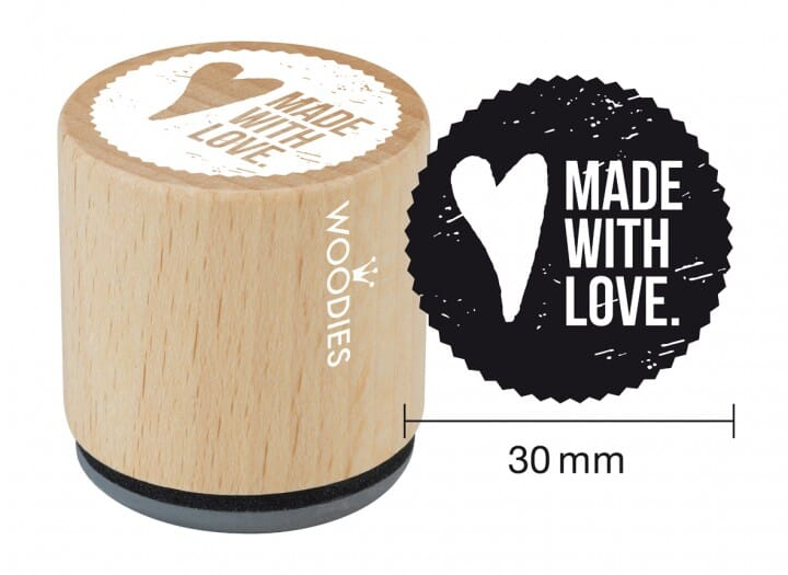 Woodies tampon Made with love