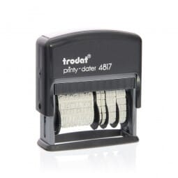 Trodat Printy dateur multiformules 4817B