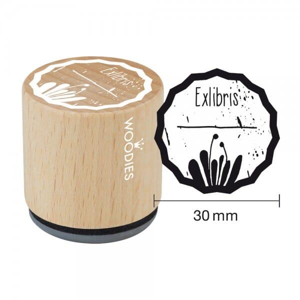 Woodies tampon Exlibris 1