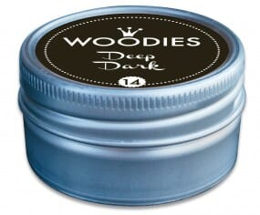Woodies tampon encreur Deep Dark