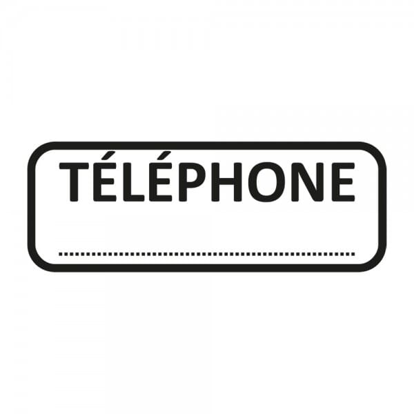 Trodat X-Print TÉLÉPHONE