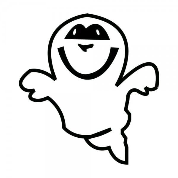 Trodat Printy 4921 Tampon formule Halloween- Ghost