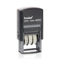 Trodat Printy dateur 4850 25x5 mm / 1 ligne + date