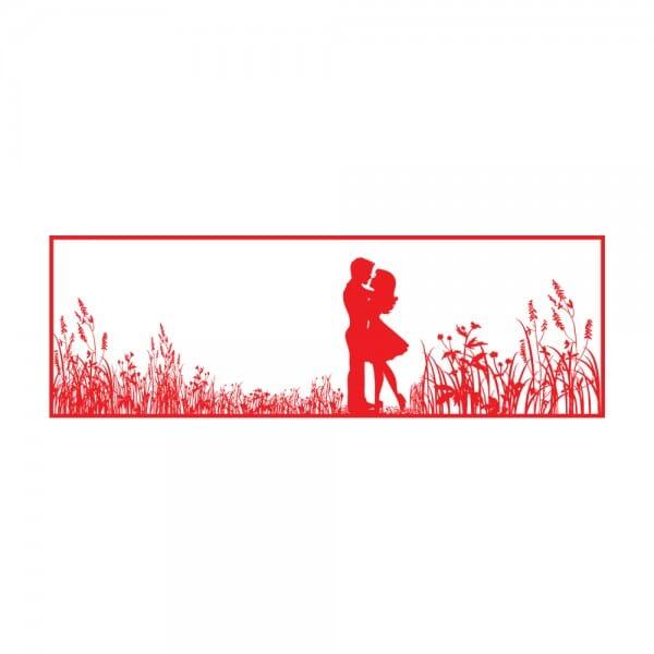Trodat Printy 4911 Tampon formule - silhouette de couple