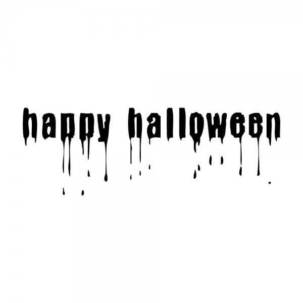 Trodat Printy 4911 Tampon formule Happy Halloween- Blood