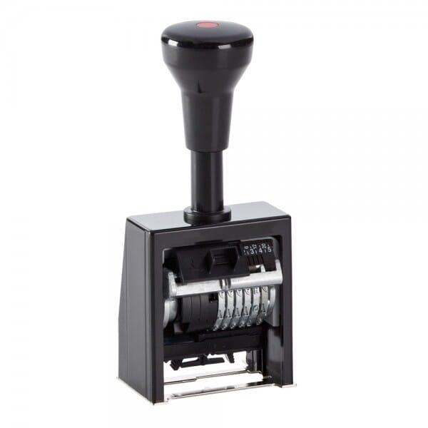 Folioteur Reiner cage plastique - 6 chiffres, 4,5mm