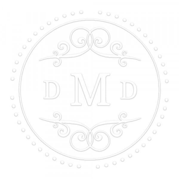 Pince à gaufrer monogramme ronde - Fantaisie