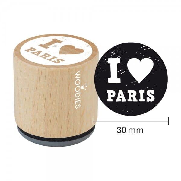 Woodies tampons I love Paris