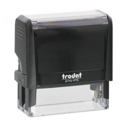 Tampon Trodat société - Trodat Printy 4915 - 70 x 25 mm