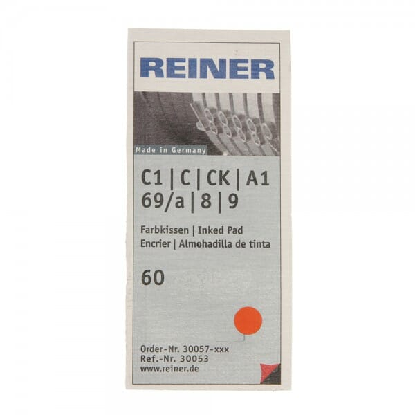 Cartouche d'encrage Reiner RE30053 - Lot de 6