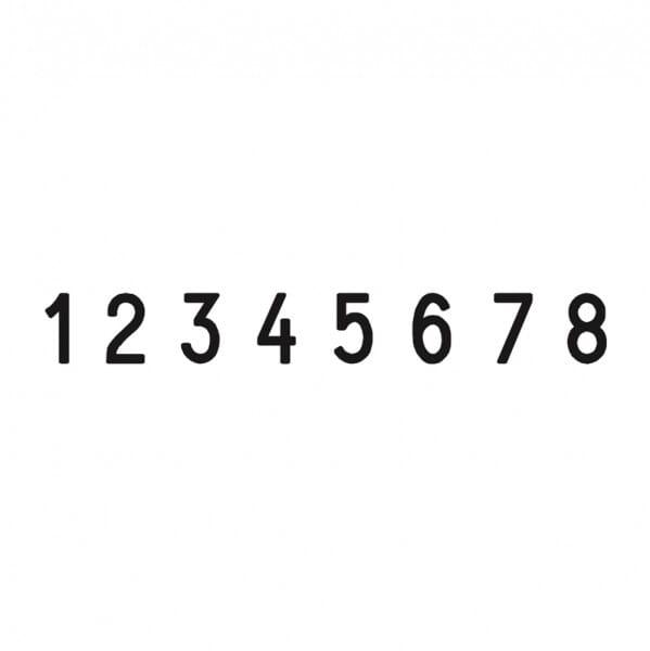 Trodat Metal Line numéroteur 5558