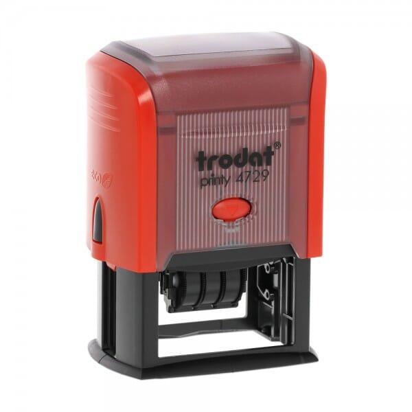 Fechador Trodat Printy 4729 - 50 x 30 mm / 3 + 3 líneas