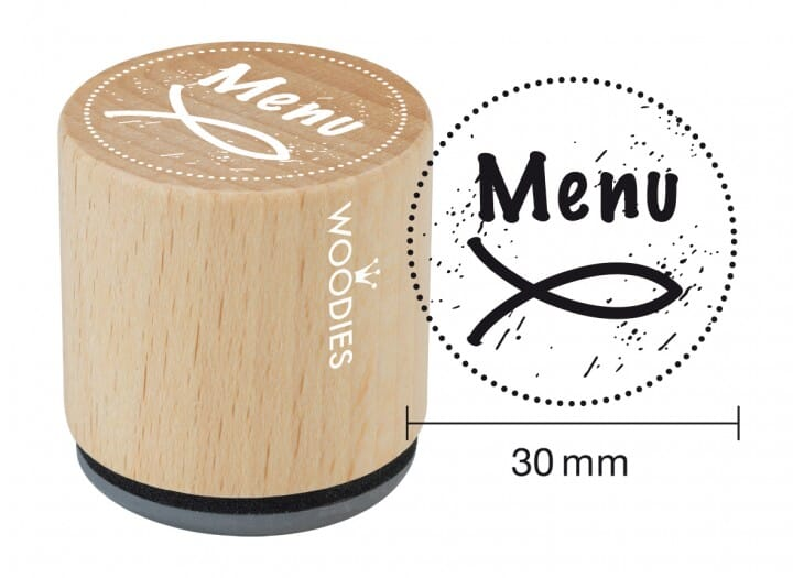 Woodies tampon Menu