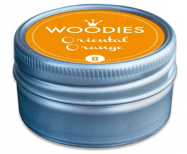 Woodies tampon encreur Oriental Orange