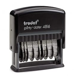 Trodat Double Dateur Printy 4816